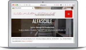 Sito web AlfaScale- Seo-SMM-Agile srl Mirandola- Modena