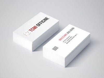 Studio logo - Corporate Identity TCMI Officine
